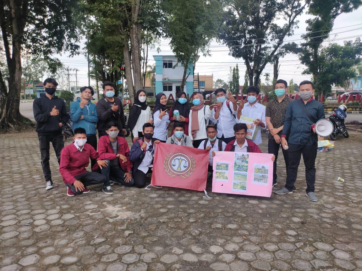 Mahasiswa STIH YPM Galang Dana untuk Korban Banjir Kalsel